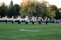 Owosso Marching Band Senior Night